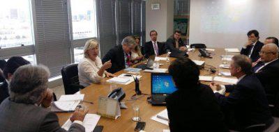 Representantes da área de habitação participaram da reunião no Ministério das Cidades. Foto: Divulgação