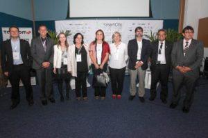 Gestores públicos de diferentes estados e a presidente da ABC participaram das mesas de debates durante o Smart City